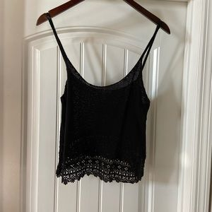 Adorable cropped O'Neill knit top.